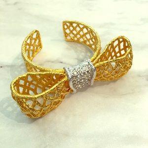 Alexis Bittar bow bracelet